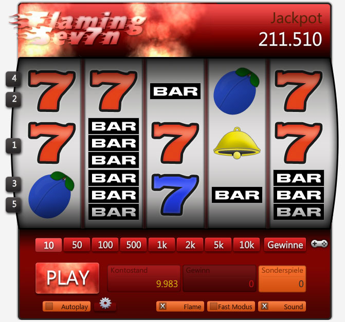 slot machine online games sevens spielen